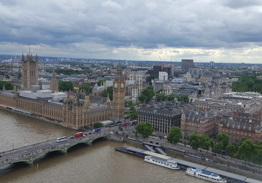 London Eye und Big Ben